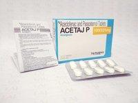 Aceclofenac + Paracetamol Tablets