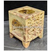 Beautiful Handmade Soapstone Aroma Oil Burner / Diffuser