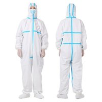 Wholesale disposable medical coverall with good quality