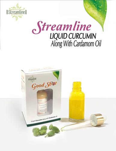 Streamline Good Shot Liquid Curcumin Along With Cardmom Oil, 30 ml