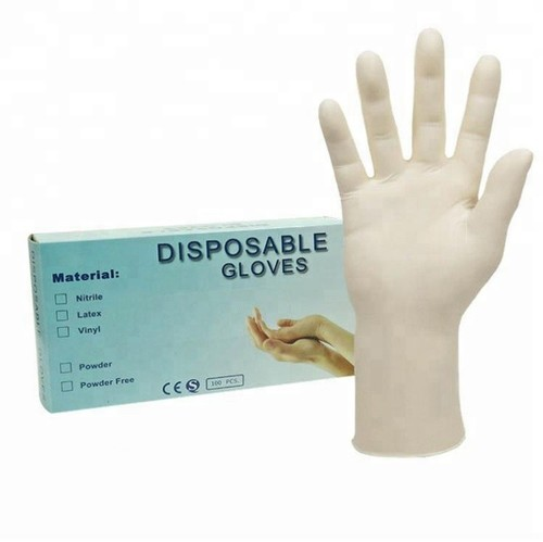 wholesale Disposable Latex Medical Examination Gloves with good quality