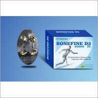 Bonefine D3 60000 Iu Capsules