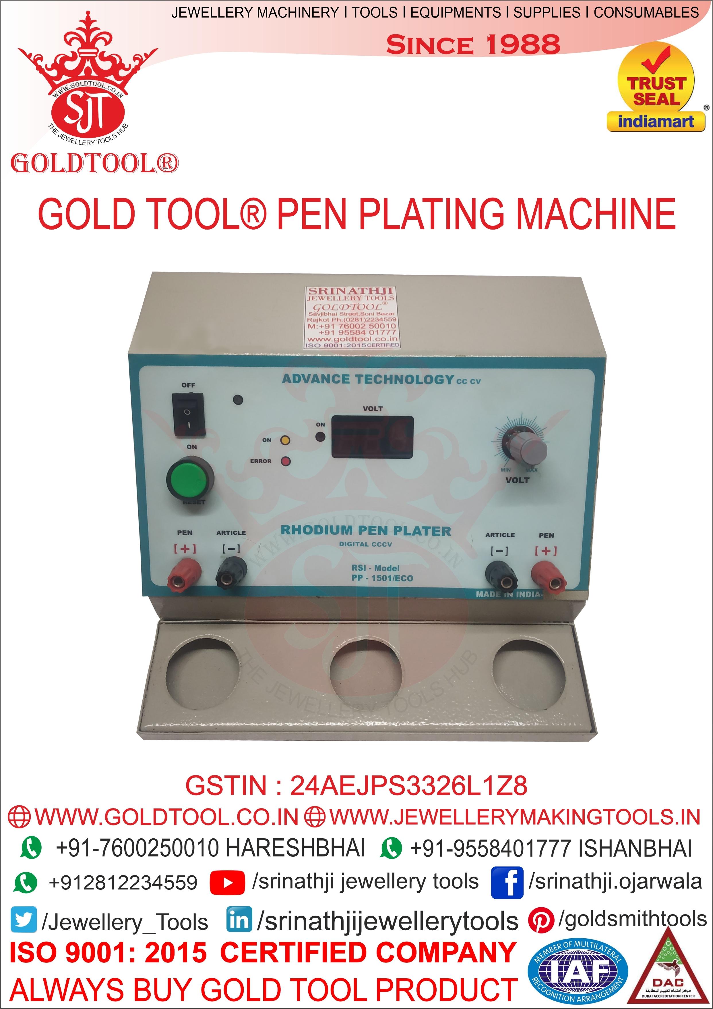 Jewellery Pen Plating Machine