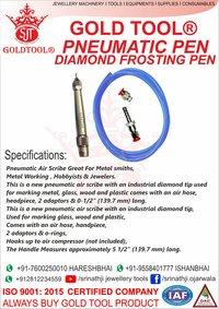 Gold Tool Pneumatic Pen (Diamond Frosting Pen)