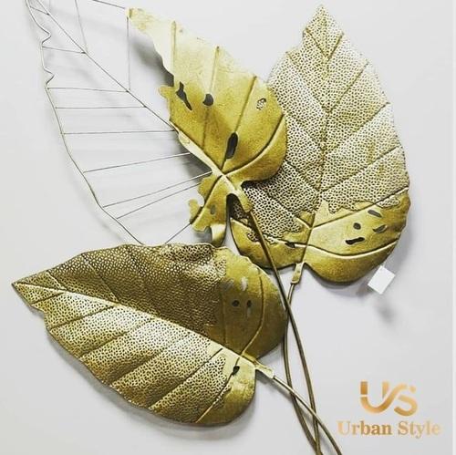 Leaves Metallic Wall Decor