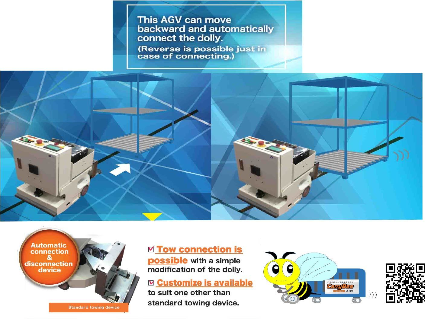 DB Type Automated Guided Vehicle (AGV)