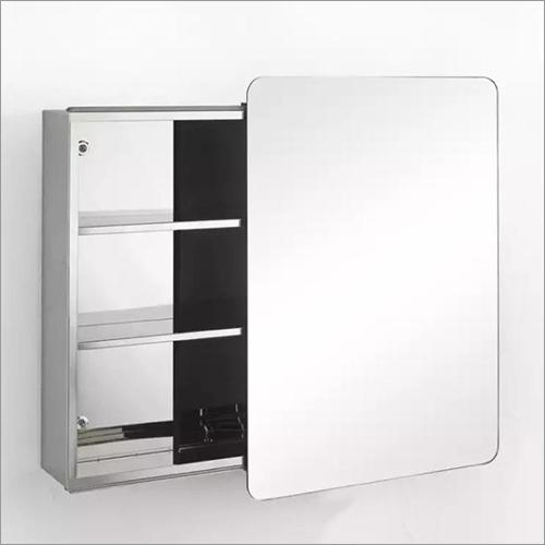 Stainless Steel Sliding Bathroom Cabinet