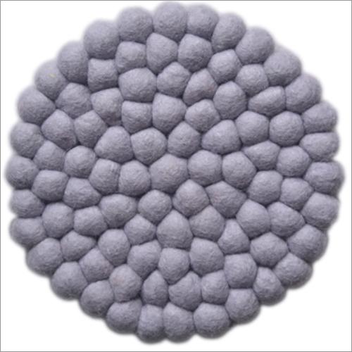 Felt Ball Dish Mat