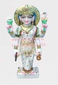 Marble Parvati Statue