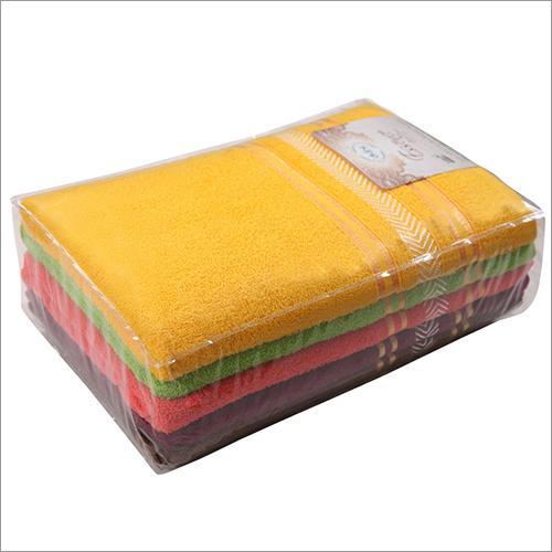 Dry Colourful Bath Towel Set