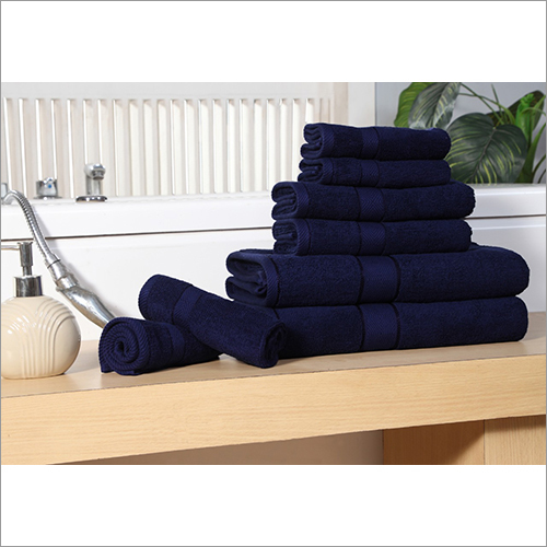 Blue Family Towel Set