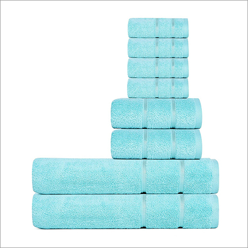 Sky Blue Family Towel Set