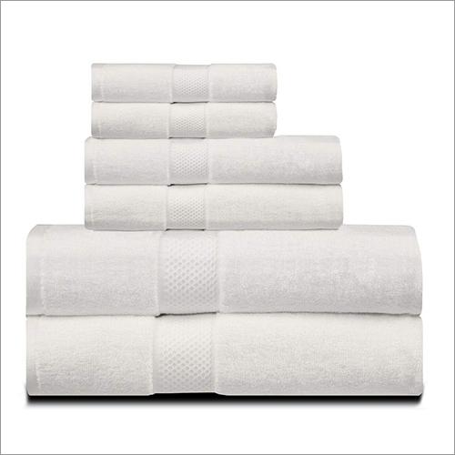 White Famity Towel Set