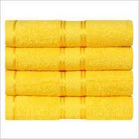 Yellow Hand Towel Set