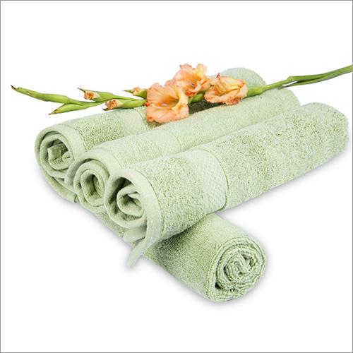 Green Hand Towel Set