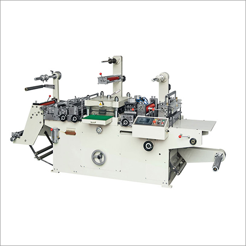 Flat Bed Label Die Cutting Machine