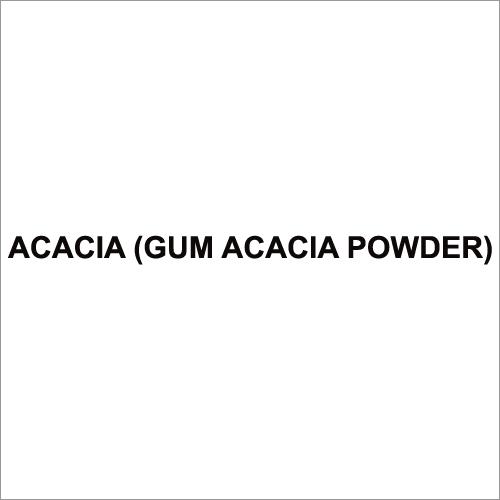 Acacia (Gum Acacia Powder)
