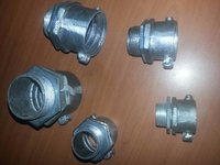 GI Flexible Coupling with check nut