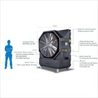 50 inches Evaporative Air Cooler with Shutter