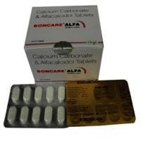Alfacalcidol and Calcium Carbonate Tablets