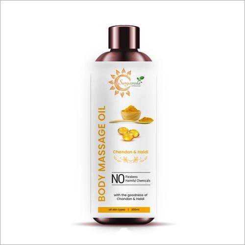 Body Massage Oil Manufacturer