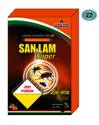 Lambda Cyhalothrin 10% Wp