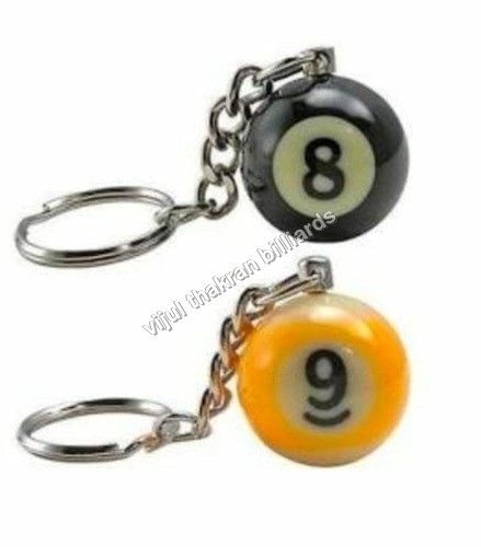 Billiard Key Ring