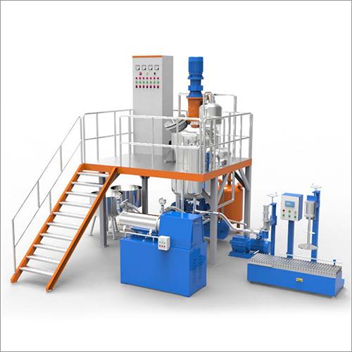 Industrial Paint Production Line Plant