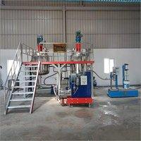 Paint Production Line Plant