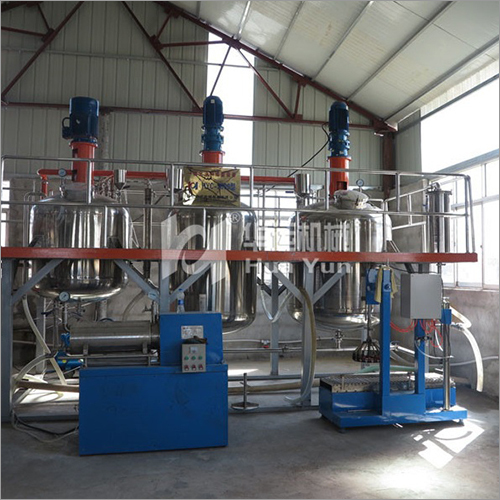 Water Based Acrylic Paint Production Line Plant