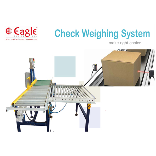 Check Weighing Conveyor System
