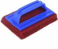 Tile Cleaning Multipurpose Scrubber Brush With Handle, Rectangular