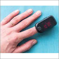 Single Color LED Contec Fingertip Pulse Oximeter