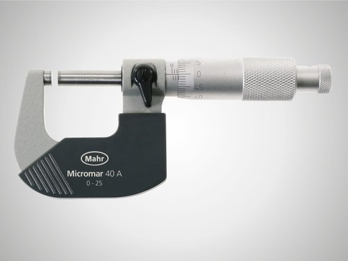 Mahr Outside Micrometer 0-25mm 4134000