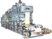 Pharmaceutical Foil Printing Machine
