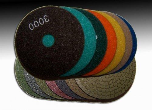 Clipper polishing pads