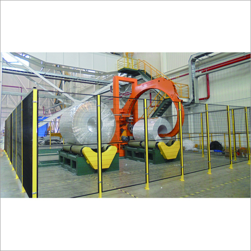 Wide Coil Wrapping Machine