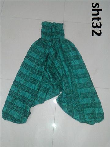 Om print Harem pants