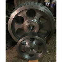 Timing Pulley 72 14M & 72 8M For Comparision