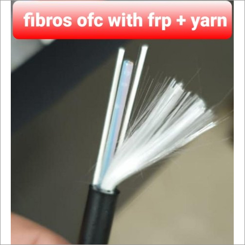2 Core OFC Cable Double FRP And Double Yarn