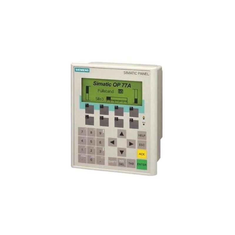 SIEMENS HMI,6AV6641-0CA01-0AX1,SIMATIC Operator Panel OP 77B LC display backlit, 4.5