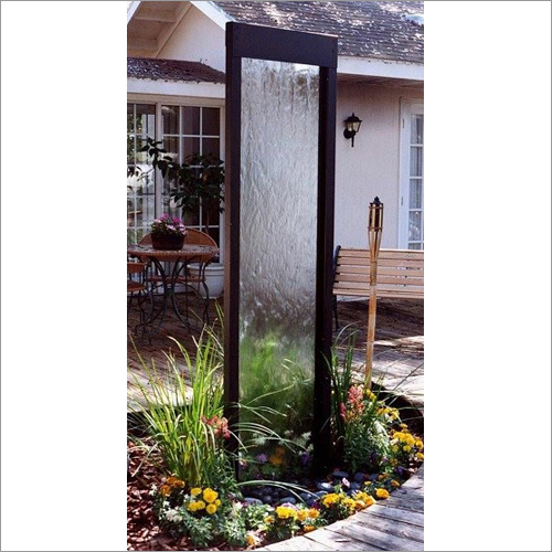 Outdoor Decorative Glass Fountains