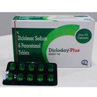 Paracetamol And Diclofenac Sodium Tablets