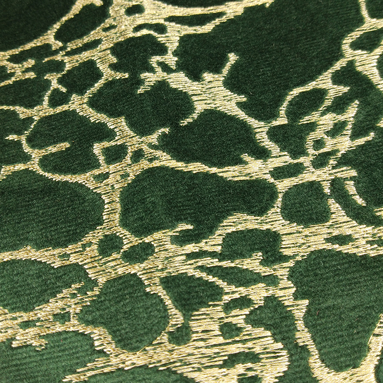 100% Polyester High Quality Net 90 Velvet Embroidery Sofa Fabric