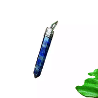 Sodalite Pencil Pendant