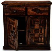 Sheesham wood storage cabinet.