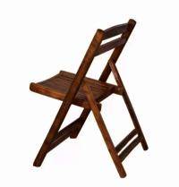 Sheesham wood folding chair.