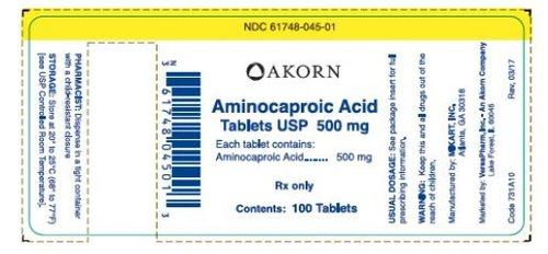 Aminocaproic Acid Tablets
