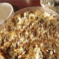 Natural Gold Mica Flakes
