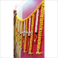 Artificial Flower Wall Hanging Bandhanwar